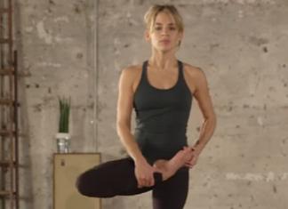 2 Balancing Yoga Poses
