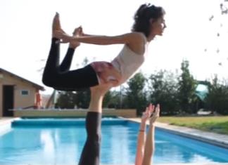3 Acro Yoga Poses