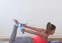 4 Yoga Strap Poses