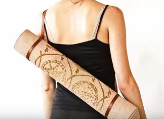How to Carry a Yoga Mat