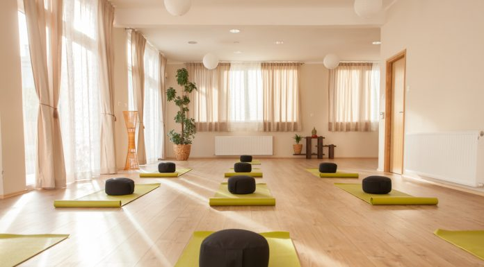 Beautiful Yoga Studio